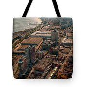 Chicago Looking South 02 Tote Bag