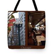 Chicago Macys Department Store 2 Panel Tote Bag