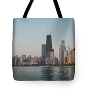 Chicago Morning Tote Bag