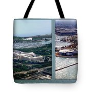 Chicago Museum Park 2 Panel Tote Bag