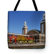 Chicago Navy Pier Headhouse Tote Bag