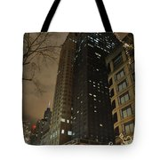 Chicago Night Life  Tote Bag