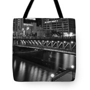 Chicago Nights Tote Bag