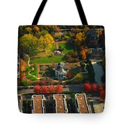 Chicago Old Meets New Tote Bag