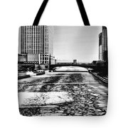 Chicago On Ice By Diana Sainz Tote Bag