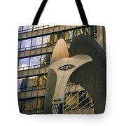Chicago Picasso Tote Bag