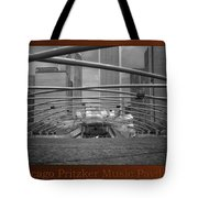 Chicago Pritzker Music Pavillion Sc Triptych 3 Panel Tote Bag
