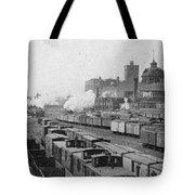 Chicago Railroads, C1893 Tote Bag