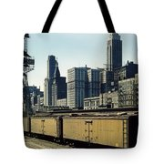 Chicago Railway Freight Terminal - 1943 Tote Bag