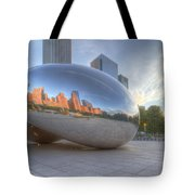 Chicago Reflection Tote Bag