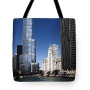 Chicago River Scenic Tote Bag