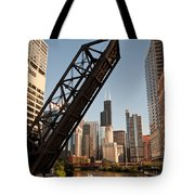 Chicago River Traffic Tote Bag