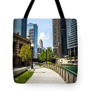 Chicago Riverwalk Picture Tote Bag