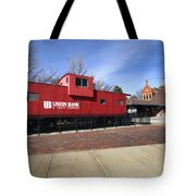 Chicago Rock Island Caboose Tote Bag