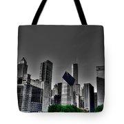 Chicago Skyline 1 Bwc Tote Bag