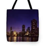 Chicago Skyline Vi Tote Bag