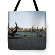 Chicago Skyline Water Color1 Tote Bag