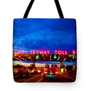 Chicago Skyway Toll Bridge Tote Bag