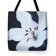 Chicago Snow White Lusterlily Tote Bag