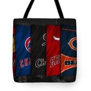 Chicago Sports Teams Tote Bag