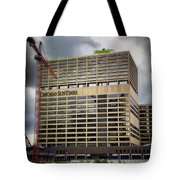Chicago Sun Times Facade After The Storm Tote Bag