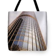 Chicago Sunrays On Trump Tower Tote Bag