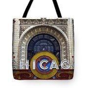 Chicago Theater Marquee Tote Bag