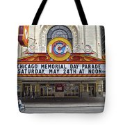 Chicago Theater Signage Tote Bag