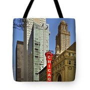 Chicago Theatre - This Theater Exudes Class Tote Bag