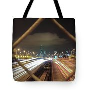 Chicago Long Exposure Tote Bag