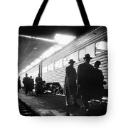 Chicago Train Station Tote Bag