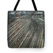 Chicago Transportation 02 Tote Bag