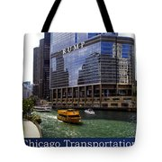 Chicago Transportation Triptych 3 Panel Hdr 01 Tote Bag
