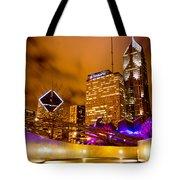 Chicago Walkway Tote Bag