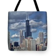 Chicago Willis Sears Tower Tote Bag