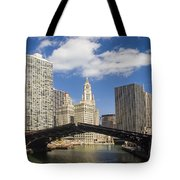 Chicagobridge Up Tote Bag