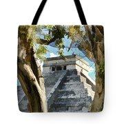 Chichen Itza - Yucatan Mexico Tote Bag