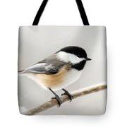 Chickadee Tote Bag by Christina Rollo
