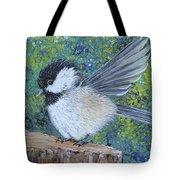 Chickadee Landing Tote Bag