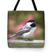 Chickadee Song Tote Bag