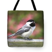 Chickadee Song Tote Bag