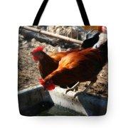 Chicken A La Carte Tote Bag