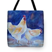 Chicken Duo Tote Bag