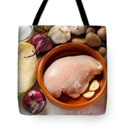 Chicken Fillet With Vegetable Tote Bag