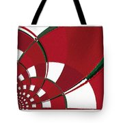 Chicken Little Crossed The Road - Abstract - Triptych Tote Bag