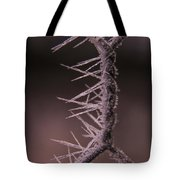 Chicken Wire Spikes Tote Bag