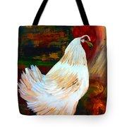 Chicken--yard Bird Impression Tote Bag