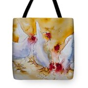 Chickens Feed Tote Bag