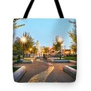 Chico City Plaza Horizontal Tote Bag