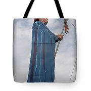 Chief Black Hawk At The Watch Tower Plaza Tote Bag
